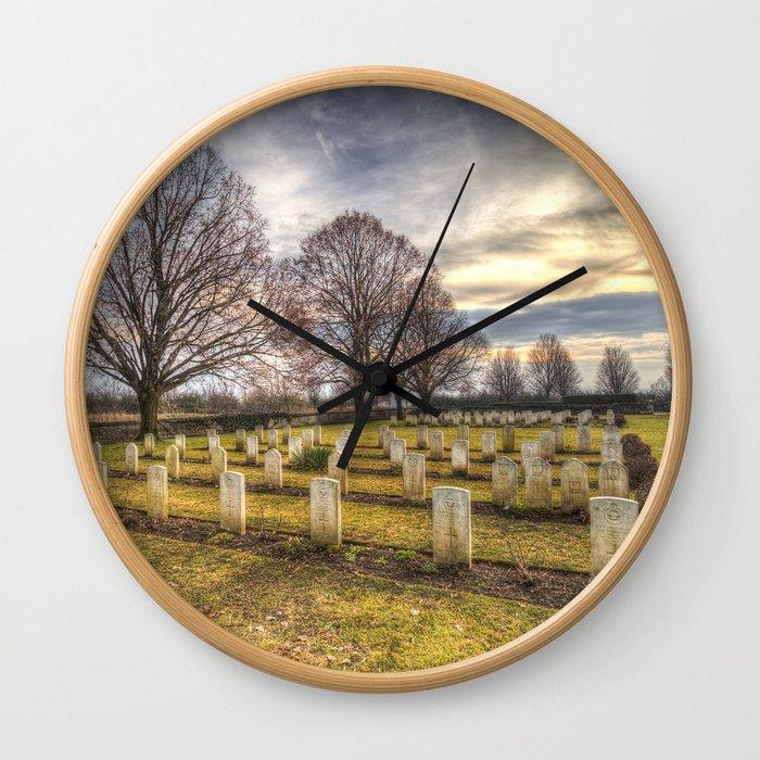 World War 2 War Graves Budapest Wall Clock
