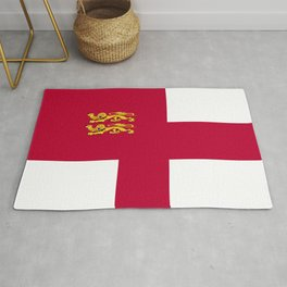 Sark flag emblem Rug