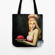 Cooking for zombies Tote Bag
