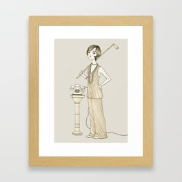 The Great Gatsby - Movies & Outfits Framed Art Print