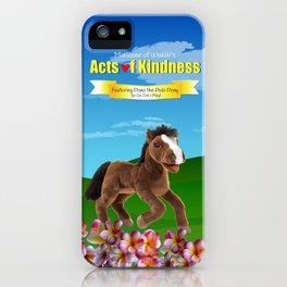 Pono the Polo Pony iPhone Case