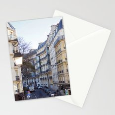 Streets of Paris. Stationery Cards