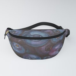 Blueberries close up Fanny Pack