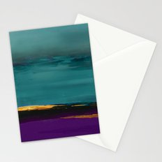 DUNES - Abstract landscape Stationery Cards