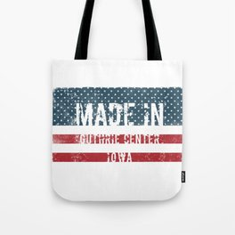 Made in Guthrie Center, Iowa Tote Bag