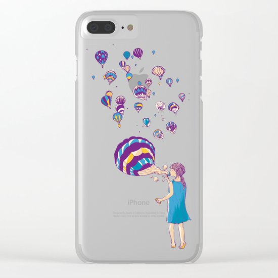 Amaze me Clear iPhone Case