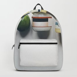 Ingredients with health fats Backpack
