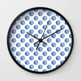 Waterdrop Pattern #2 Wall Clock