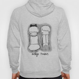 Indigo Twins Hoody