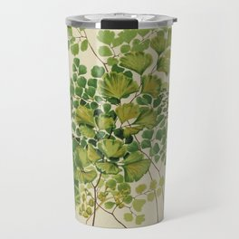 Maidenhair Ferns Travel Mug