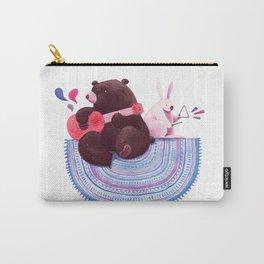 Bear & Bunny Carry-All Pouch