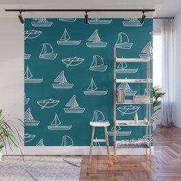 Boats Wall Mural