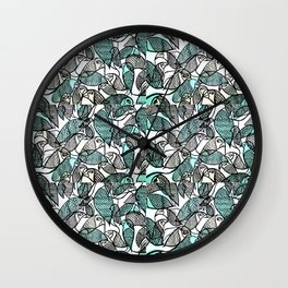 BIRDS IN THE PARK Wall Clock