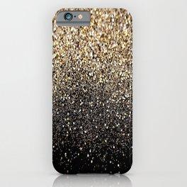 Black Royalty Glitter  iPhone Case