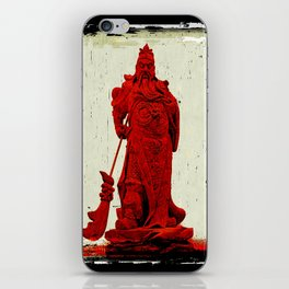 General's Red Rage iPhone Skin