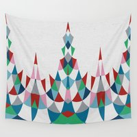 chandelier Wall Tapestries featuring Modern Day #4 by Project M