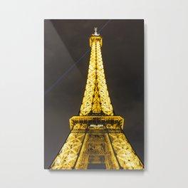 France, Eiffel Tower, Paris Metal Print