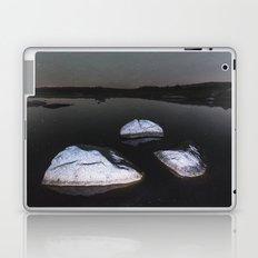 Boulders in Black Laptop & iPad Skin