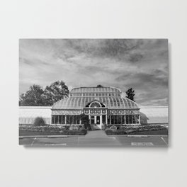 Conservatory Metal Print