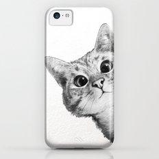 sneaky cat Slim Case iPhone 5c