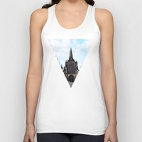 medieval Tank Tops featuring medieval glasgow by seb mcnulty