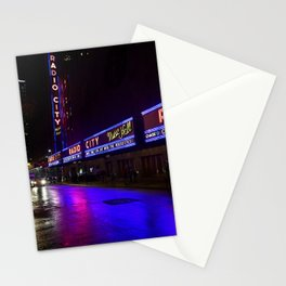 Reflections of Radio City Music Hall Stationery Cards