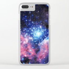 Extreme Star Cluster Clear iPhone Case