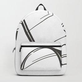 Heart Illustration Backpack