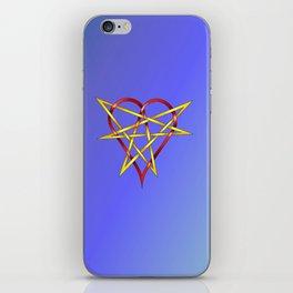 HeartStar Knot iPhone Skin