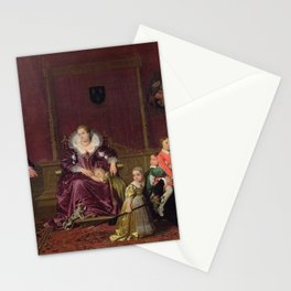 Jean-Auguste-Dominique Ingres - Henry IV Receiving the Spanish Ambassador Stationery Cards