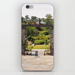 Garden Walkway iPhone Skin