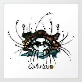 """La Nunca (She, the Never"") Art Print"