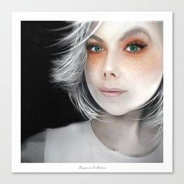Megan Massacre Portrait Canvas Print
