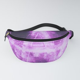 Korea Won symbol. Monetary currency symbol. Abstract night sky background. Fanny Pack