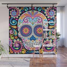 Sugar Skull (Cosmos) Wall Mural