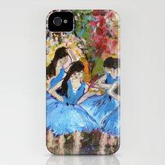 Blue Dancers iPhone (4, 4s) Slim Case