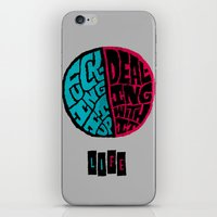 half life iPhone & iPod Skins featuring Half of life is fucking up by Chris Piascik