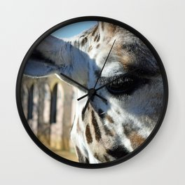 Those lashes Wall Clock