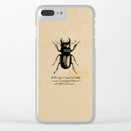 The Metamorphosis - Franz Kafka Clear iPhone Case
