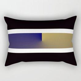 Team Colors 3..navy,gold Rectangular Pillow
