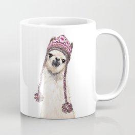 The Llama with Hat Coffee Mug