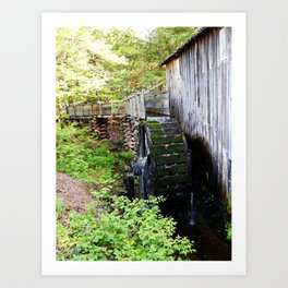 Cable Mill in Cades Cove Art Print