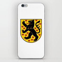 flag of weimar iPhone Skin