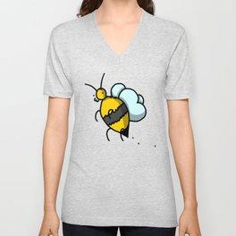 Buzzy Bee   Veronica Nagorny Unisex V-Neck