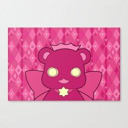 Monochromatic Kuma Ginko Canvas Print
