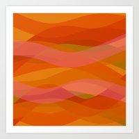 discount Art Prints featuring Warm breeze by Roxana Jordan