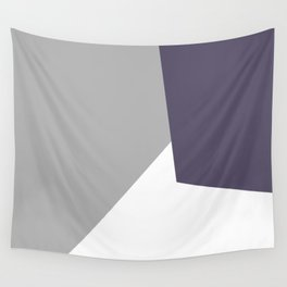 grey blue Wall Tapestry