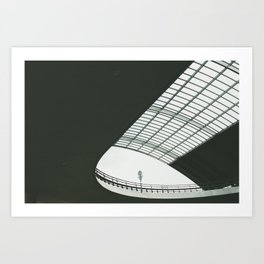 Amsterdam Centraal Train Station Art Print