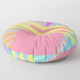 Random Art Three Floor Pillow
