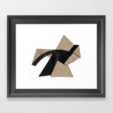 Traversal Framed Art Print